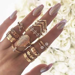 Jewelry - GUADALUPE ♡ MIDI Rings 13 pcs SET